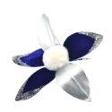 FLOR C/CLIP M.912002 AZUL/ARG – 8032089355650