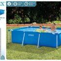 28272-PISCINA SMALL FRAME FAMILIAR 300X200X75CM 3834L – 6941057400273
