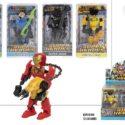 ROBOT ARTICULADO – SUPER HEROES 6/S – DISP 12 – 8412842376274